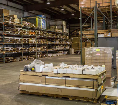 HP Manufacturing's custom plastics distribution warehouse & inventory management